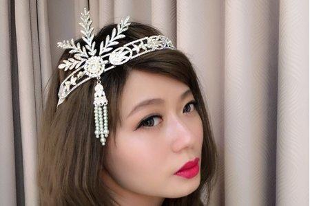 20161107-妹妹頭瀏海新娘造型