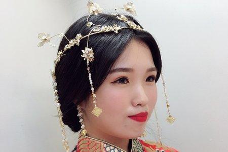 20181027-萬聖節妝髮梳化