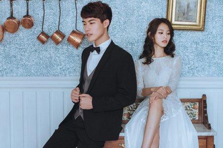 韓式新娘妝髮-攝影師拍攝