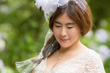 【自助婚紗】 杉林溪 繡球花婚紗 龍鳳