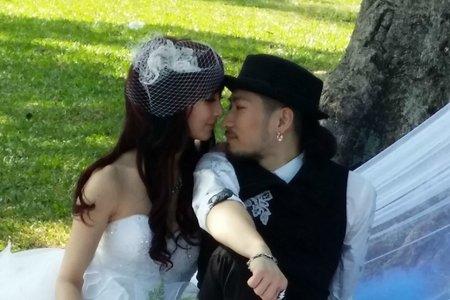 Bride外拍彩妝造型