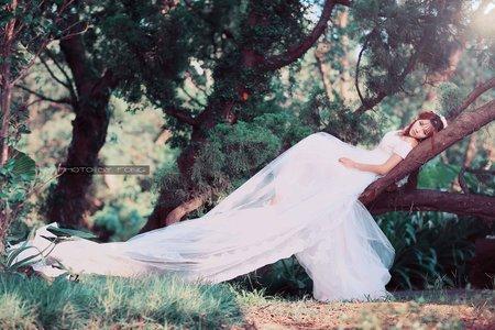 怡貞單人婚紗寫真