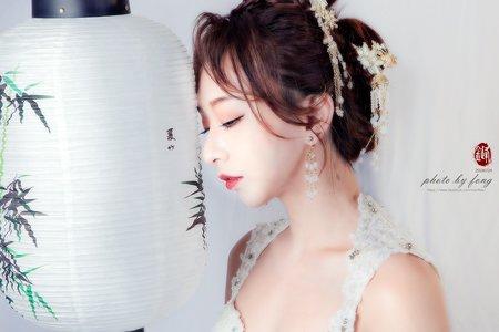 中式婚紗照