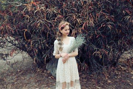 甜美婚紗造型