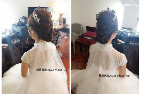 高雅白紗造型