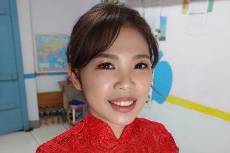 經典紅禮服
