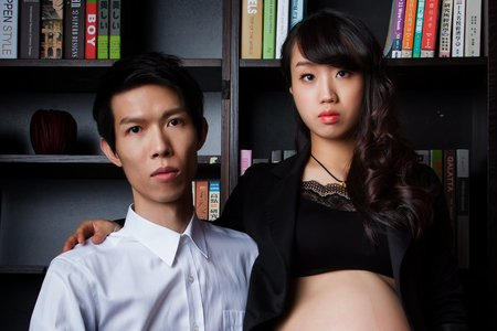 ღ清純與性感的存在-孕婦寫真