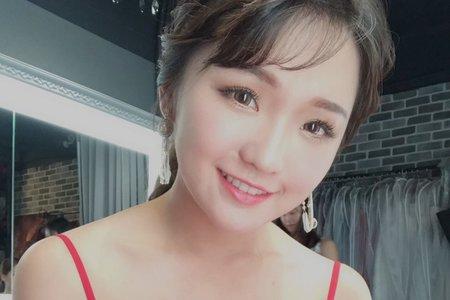 ღ韓系優雅馬尾 婚紗拍樣