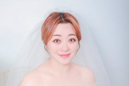 ღ韓式俏麗短髮新娘