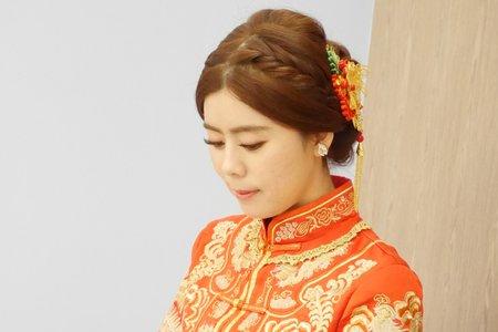 中式龍鳳掛新娘