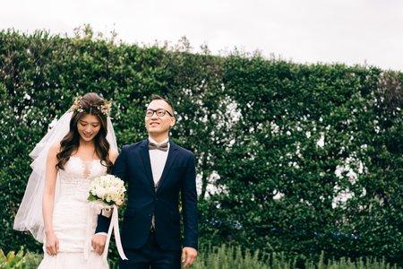 圓山、維多利亞 戶外證婚 晚宴 Cha & Lai