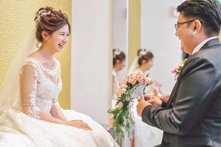 【 婚禮紀錄 】信彥 & 瑜莉  新莊 / 晶宴會館