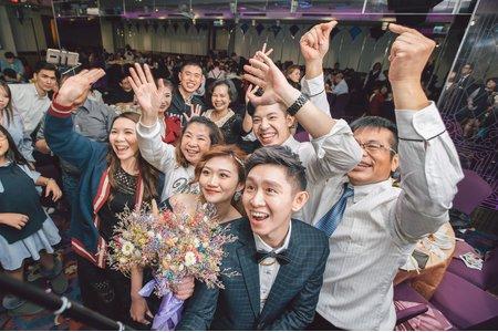 【婚禮紀錄】家豐&佳琪   新北 / 臻愛會館
