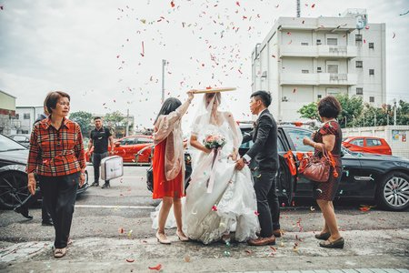 【婚禮紀錄】信杰 & 侃萍  苗栗 / 東達婚宴會館