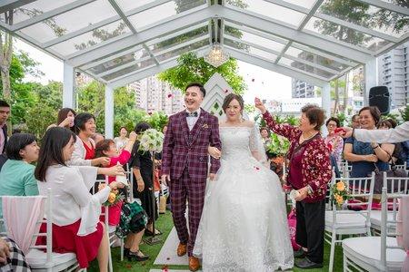 【婚禮紀錄】奕霖&麗雯  桃園 / 青青格麗絲莊園