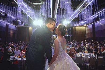 【婚禮紀錄】漢狄&美鳳  新莊 / 典華婚宴會館