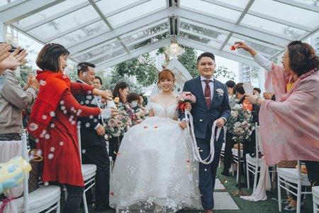 【婚禮紀錄】旻威&姵吟  桃園 / 青青格麗絲