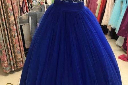 寶藍禮服-奧莉薇二手婚紗禮服專賣店