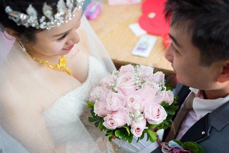 20170225 室鋒&秀真 迎娶儀式