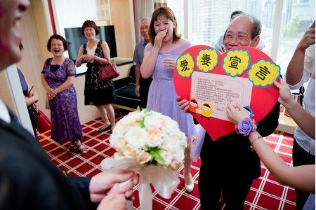 結婚迎娶儀式記錄