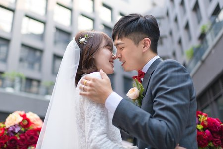 竣志&琬瑜 戶外證婚儀式