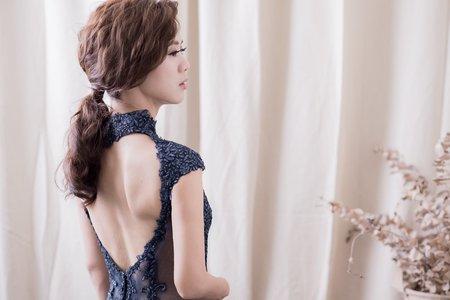 婚紗創作-寶藍貴族