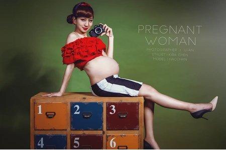 復古孕婦寫真