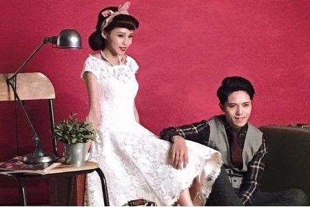 復古自助婚紗