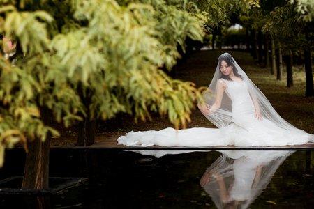 韓式劇照風小清新婚紗