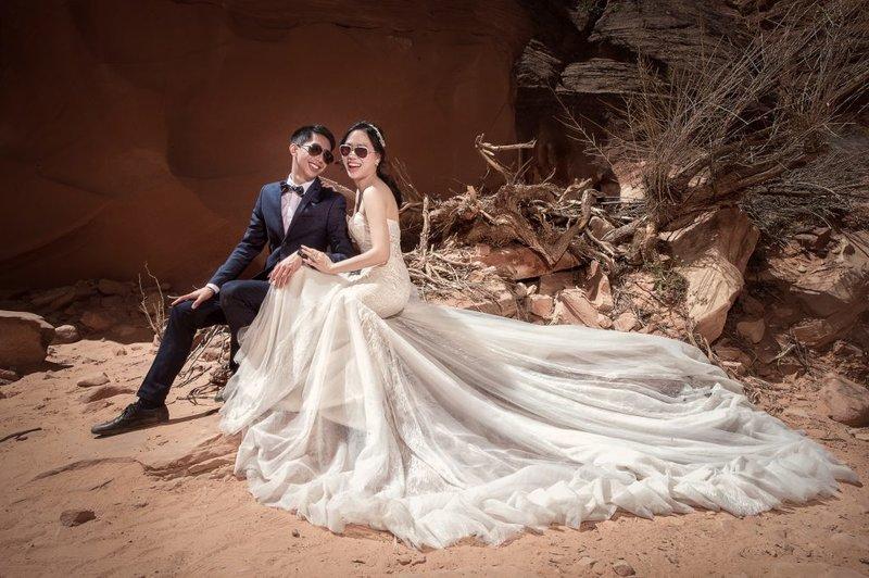 美國羚羊谷海外婚紗