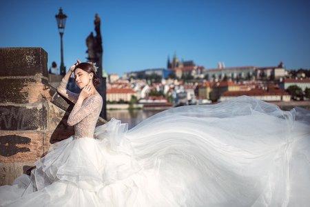 布拉格海外婚紗