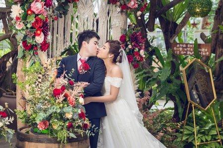 【葉子團隊】台北花卉村 儀式午宴 婚禮攝影