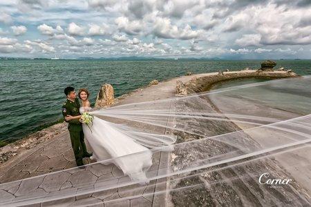 沖繩婚紗-伊計島/波上宮/金城町石疊道 沖繩婚紗-攝影:大仁 / 造型:多多