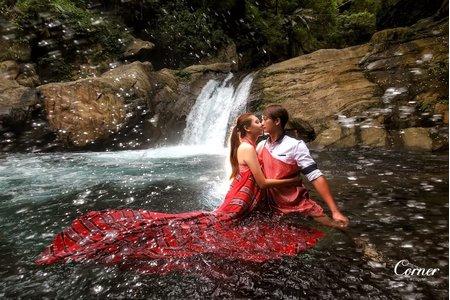 自助婚紗-東澳神秘湖/東岳瀑布-世華&珊茹