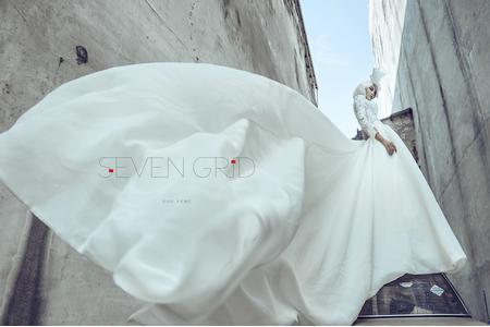 設計師訂製款[sevengrid] 婚紗樣