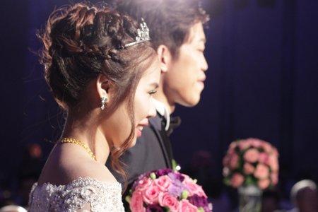 Bride-正珣。逆光蕾絲。台北喜來登大飯店(結婚宴客紀錄)