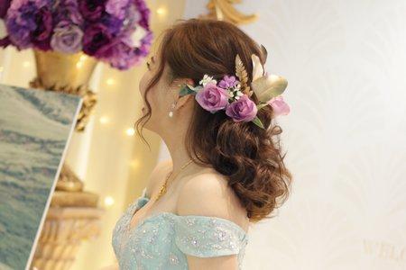 Bride-慧芳。第九大道手工婚紗。新莊晶宴(結婚宴客紀錄)