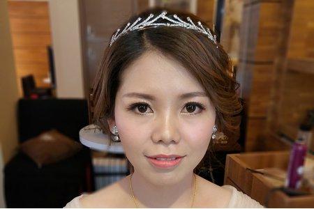 台南姸色color makeupstudio-雅婷結婚