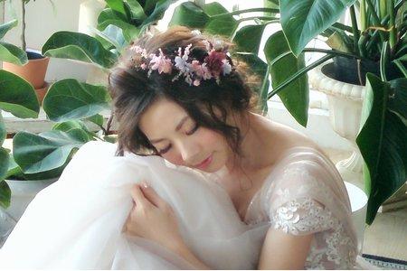 台南姸色color makeupstudio-新娘葵純