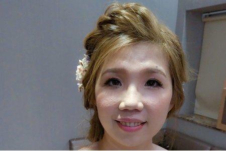 Tina結婚新祕-台南姸色makeupstudio