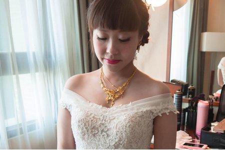 新娘小穎 結婚白紗造型@雲林迎娶台中作品