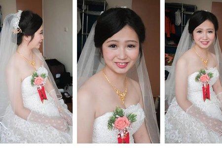 新娘小昀~白紗迎娶造型~