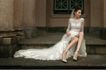 莎拉罐頭 婚紗造型(君君)