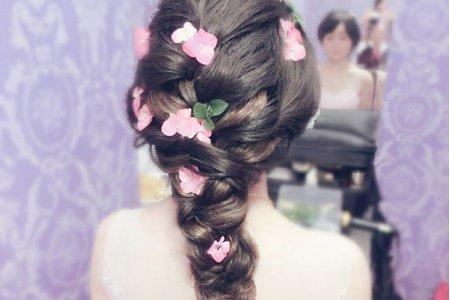 鮮花造型 浪漫的繡球花