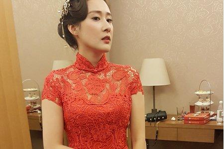 Ivy 瑤 MAKE-UP  紅禮服造型