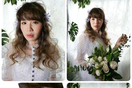 Ivy make up 婚紗造型日2018/06/10