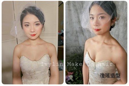 2018韓系簡約新娘造型