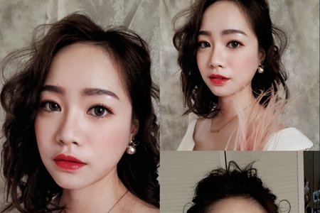 瓊瑤創作造型 Ivy make up 韓系新娘