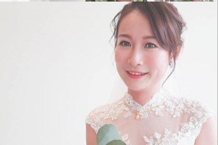 Ivy 瓊瑤造型/婚禮現場造型2019/03/09潔如