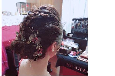 2019/06/02文定造型/瓊瑤造型ivy